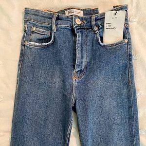 Skinny hi-rise Zara jeans